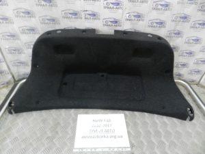 Обшивка крышки багажника на BMW F10-F11