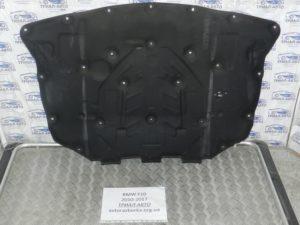 Обшивка капота на BMW F10-F11