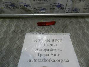 Катафот левый на Juke 2010-2017 г.в.
