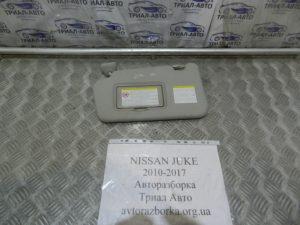 Козырек левый на Juke 2010-2017 г.в.