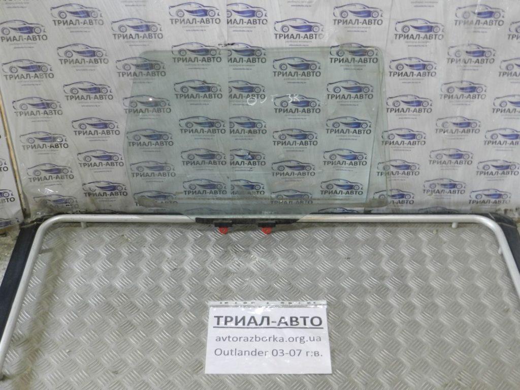 стекло боковое заднее правое Outlander 2003-2007