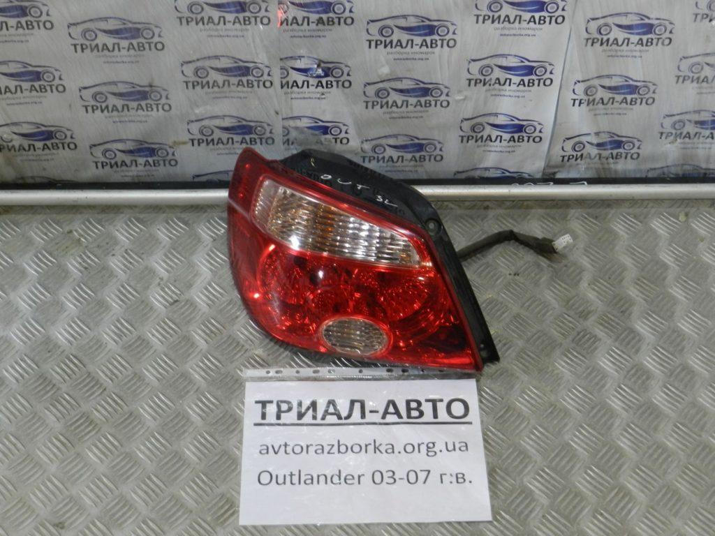 фонарь левый Outlander 2003-2007