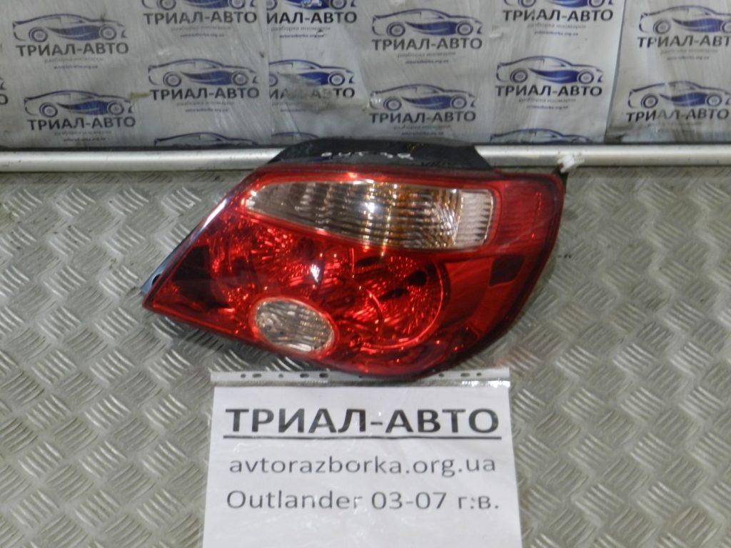 фонарь правый Outlander 2003-2007