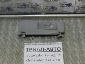 козырек солнцезащитный левый Outlander 2003-2007