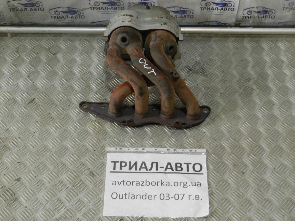 коллектор выпускной с катализатором Outlander 2003-2007