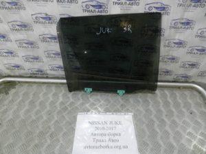 стекло боковое заднее правое Juke 2010-2017