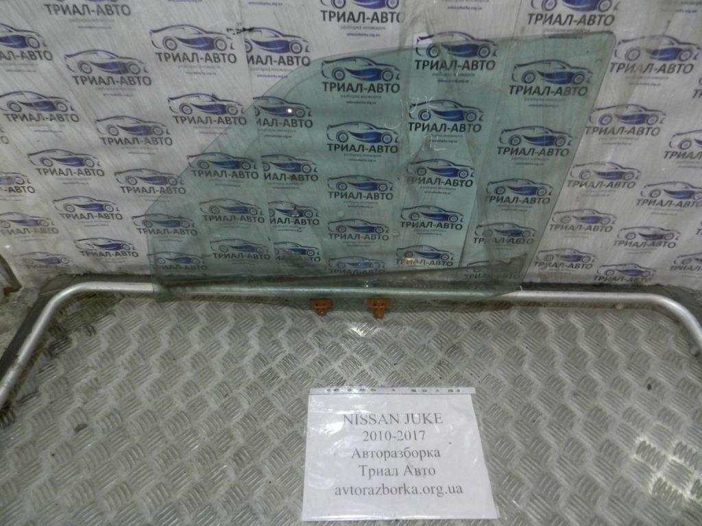 стекло боковое переднее левое Juke 2010-2017