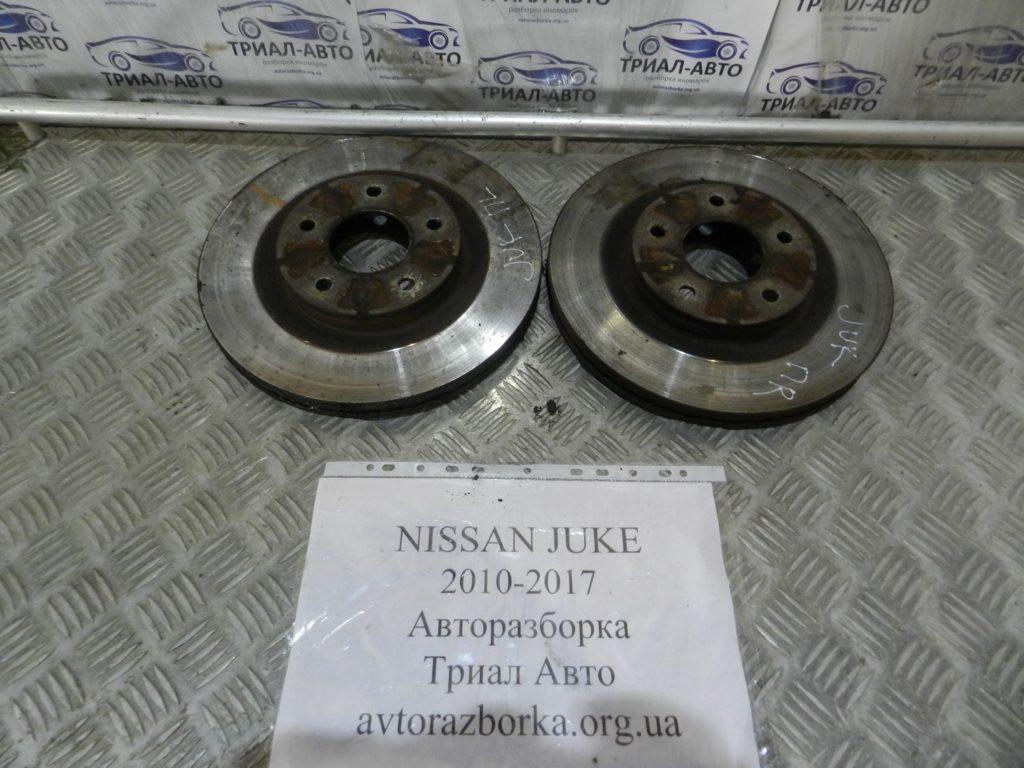 диск тормозной передний (пара) Juke 2010-2017