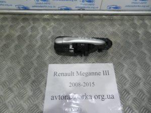 Ручка двери наружная задняя левая на Megane 3 2008-2015