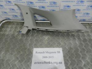 Накладка багажника верхняя правая на Megane 3 2008-2015