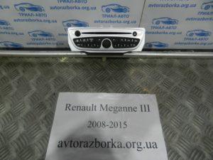 Магнитола на Megane 3 2008-2015
