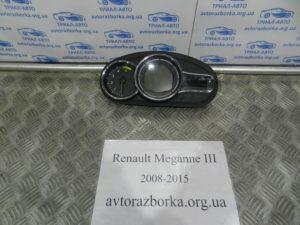 Приборная панель на Megane 3 2008-2015