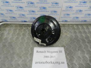 Вакуумный усилитель тормозов на Megane 3 2008-2015